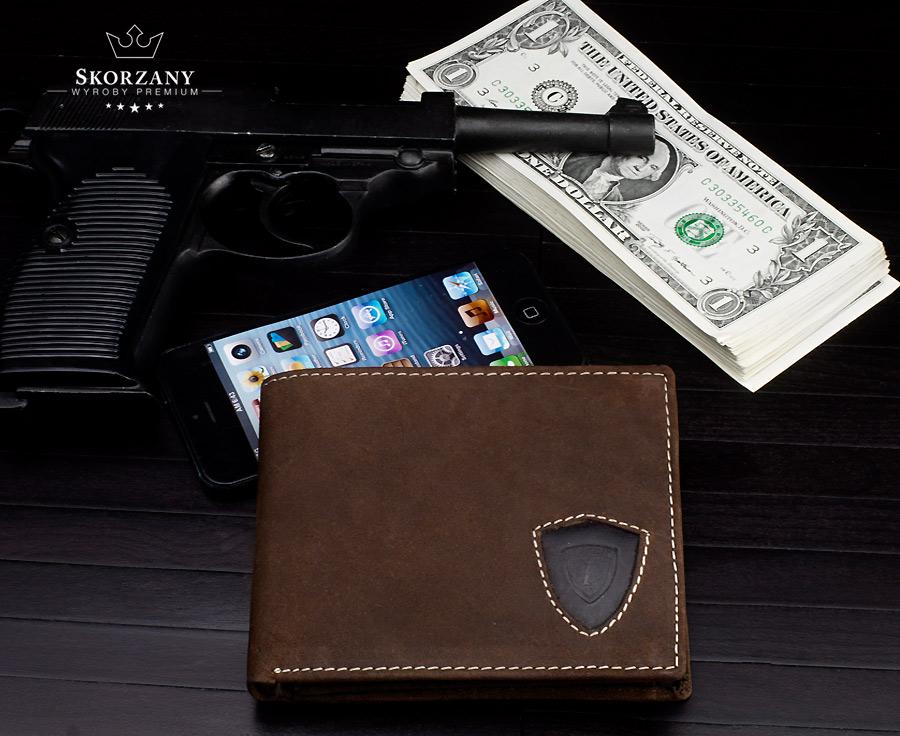 portfel dla niego Loren for men - widok z przodu